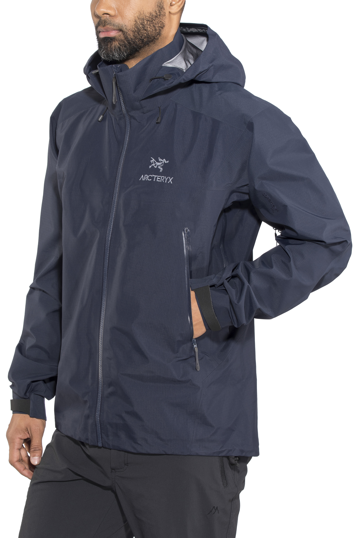 221b62b4856 Arc'teryx Beta AR Jacket Men blue at Addnature.co.uk